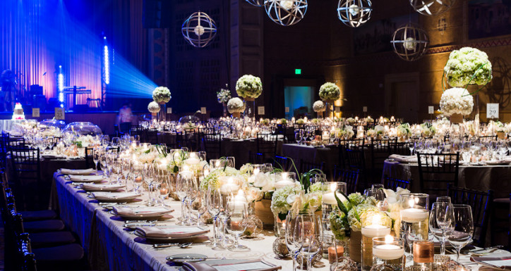A stylish event begins with masterful planning.
